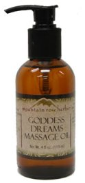 Goddess Dreams Massage Oil