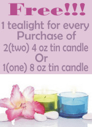 Soy Candle Promotion