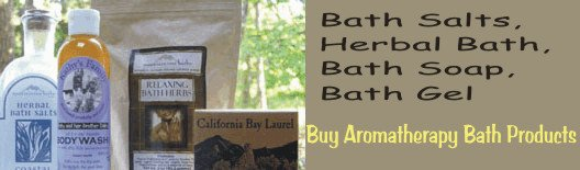 aromatherapy bath products